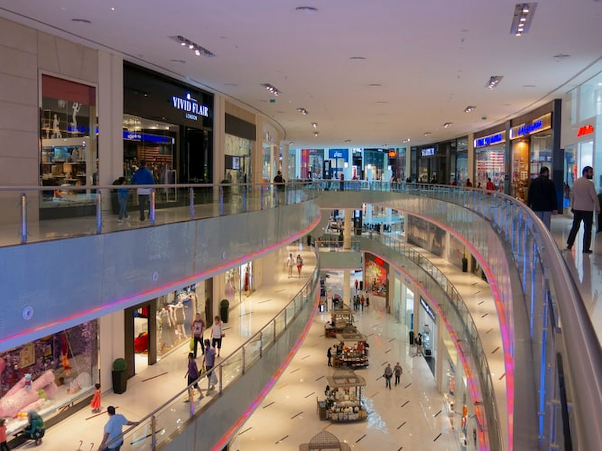 Shopping à Dubaï, Dubaï Mall le plus grand centre commercial au monde