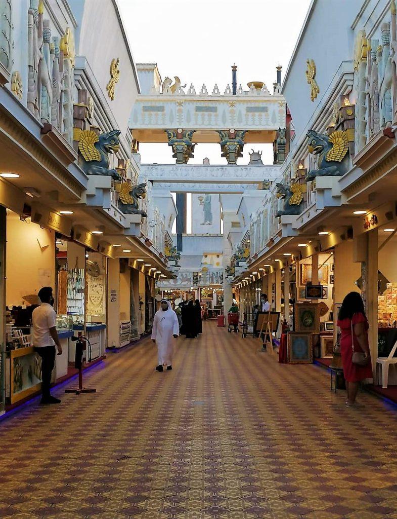 Shopping aux souks de Global Village, le souk de l'Iran est sublime