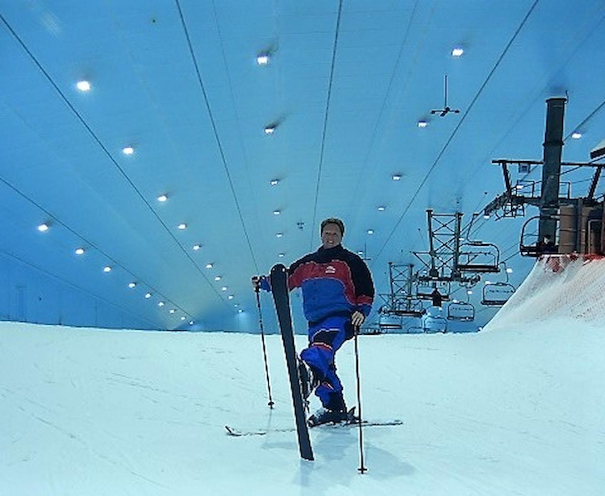 La station de ski dans le Dubaï Mall permet de skier pendant son shopping à Dubaï