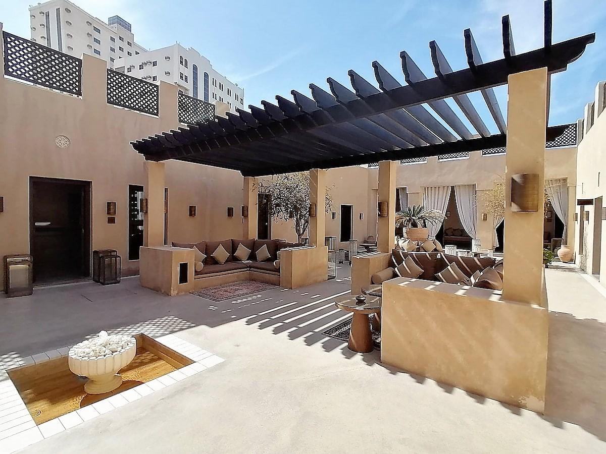 Le magnifique hôtel 5* The Chedi Al Bait de Sharjah
