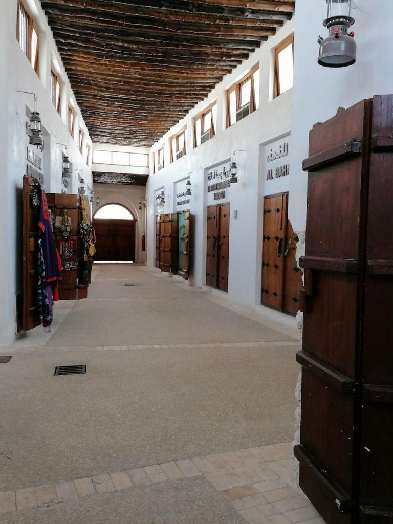 Le souk Al Arsah de Charjah est couvert et climatisé