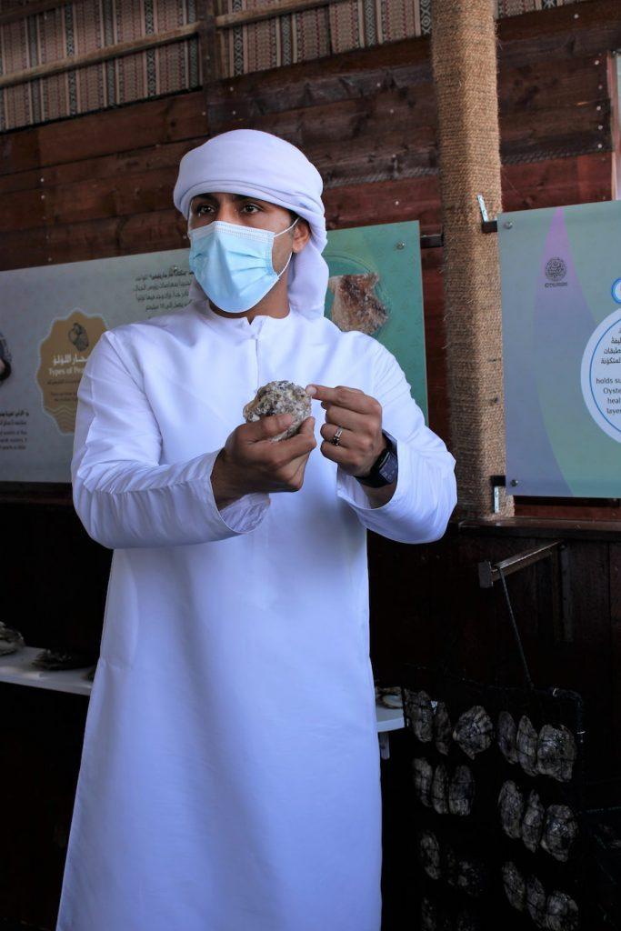 Une visite de la ferme perlière de Suwaidi près de RAK