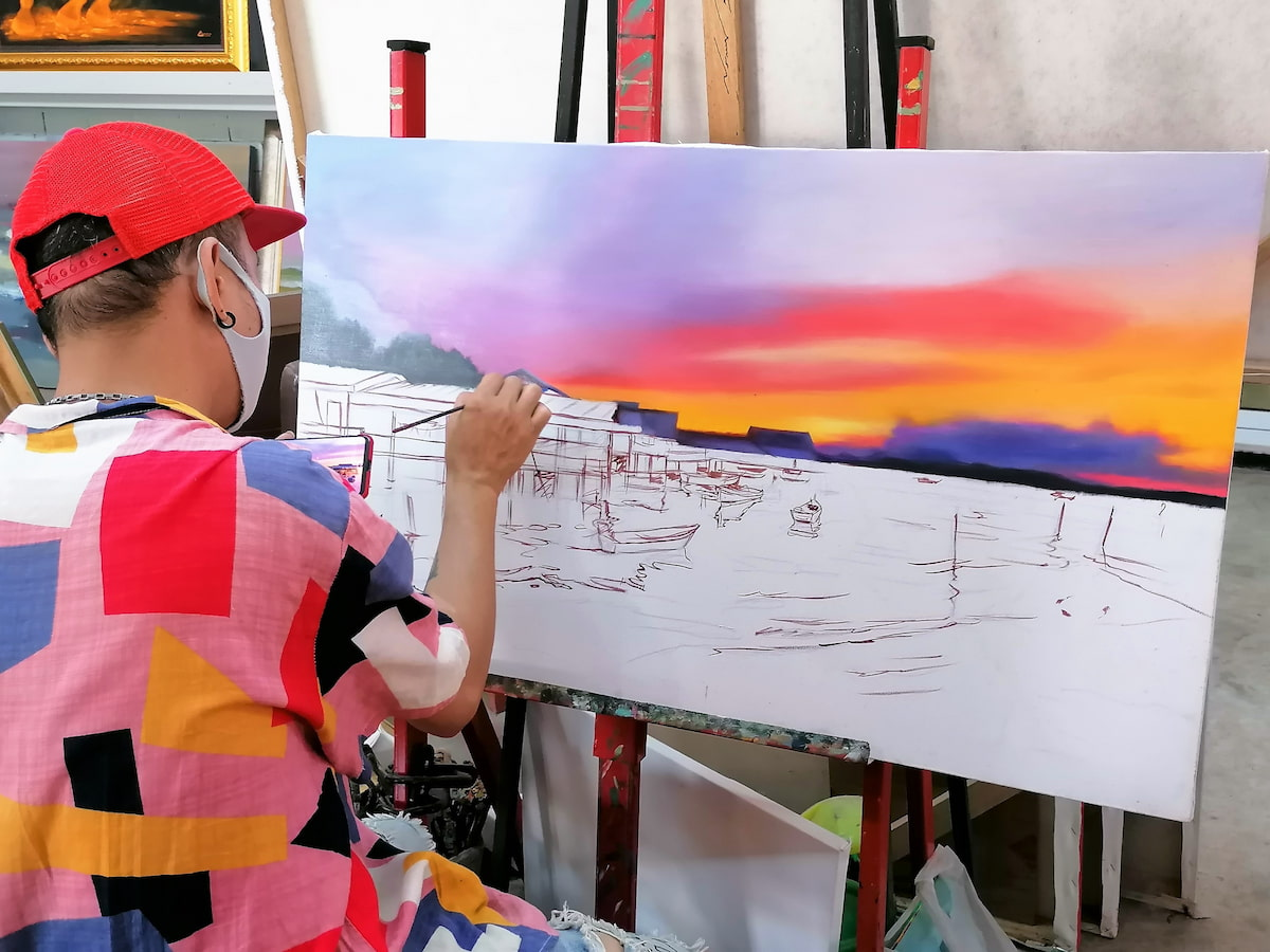 Baan Sillapan Village permet de rencontrer les artistes