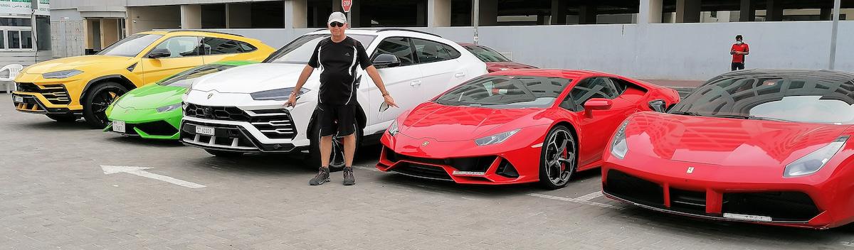 Louer une voiture de luxe à Dubaï