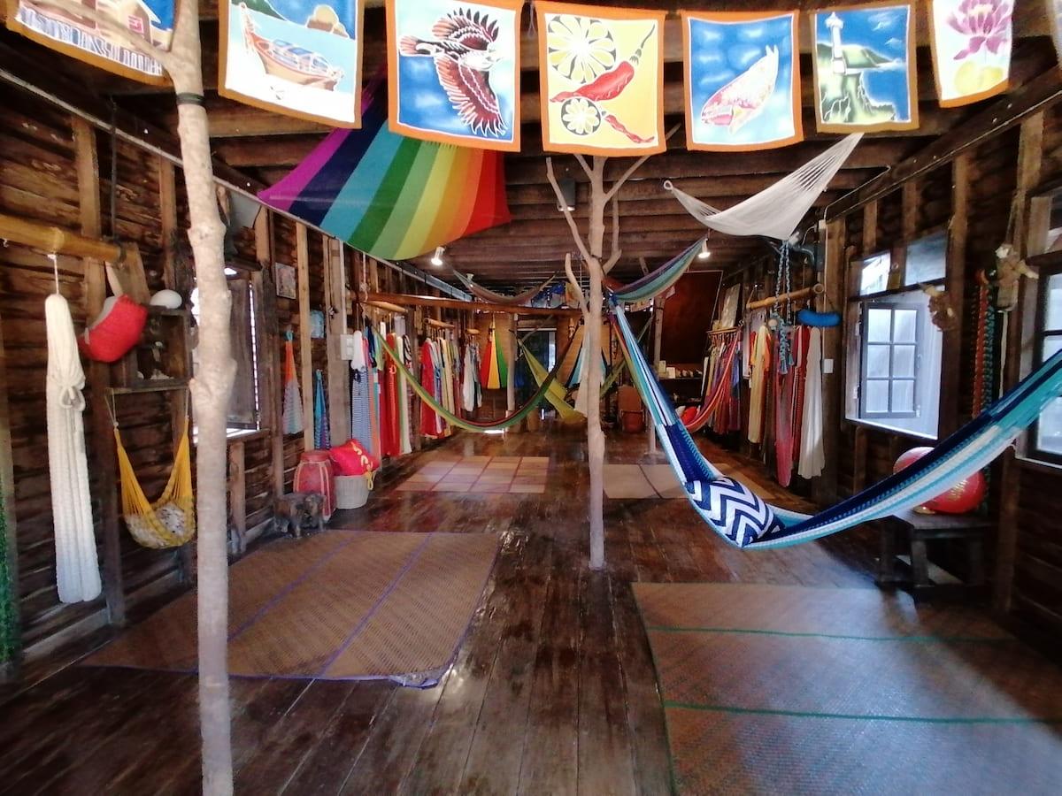 Les hamacs de voyage Jumbo sont superbes