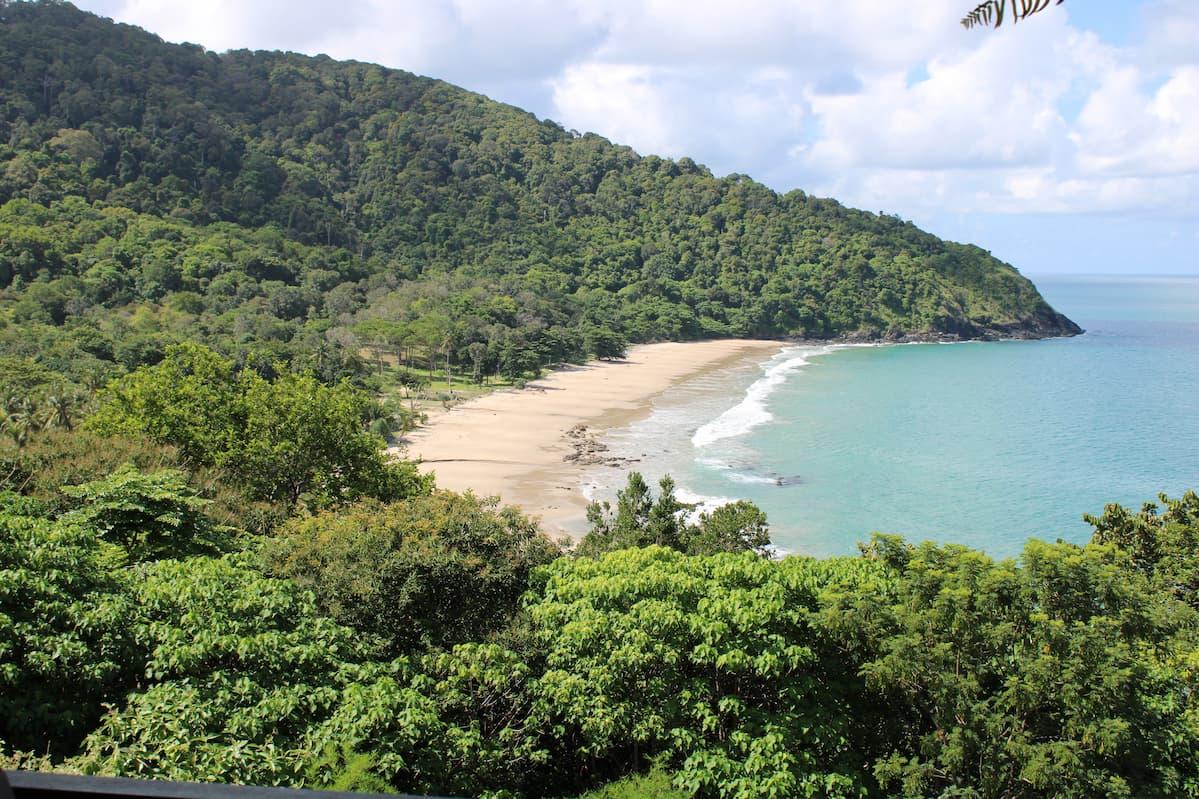 Bamboo Beach - Côte Sud-Ouest au bout de l'île