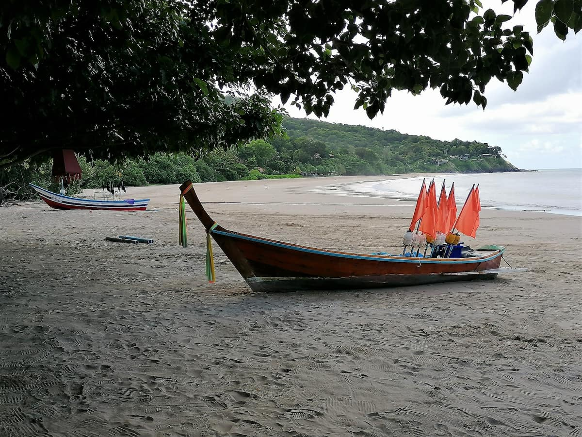 Kantiang Beach immense plage de sable