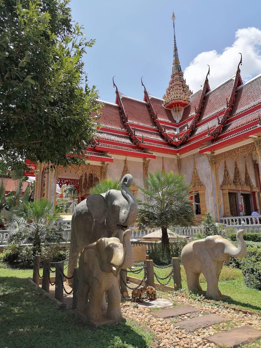 Le Wat Chalong est un très beau temple de Phuket